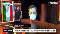 Италия иска ваксинационен сертификат на всички работещи