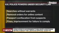 Нови наредби за сигурността в Хонконг