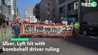 Uber и Lyft понесоха нов удар от съда в Калифорния