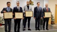 Министърът на икономиката връчи четири сертификата за инвестиции за 110 млн. лева