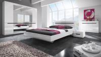 Идеи за оформяне на бяла спалня в модерен стил