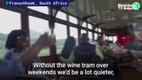 Трамваят на виното отново е на релсите в Южна Африка
