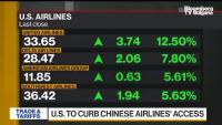 САЩ отмениха полетите на китайските авиокомпании до страната