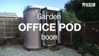 Бумът на офис-кабините за градината