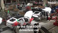 Tesla близо до автономна кола