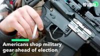 Американците трескаво купуват военна екипировка