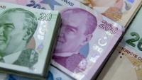 Турската лира отслабва за девети пореден ден преди заседанието на централната банка