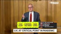 Великобритания достигна нова критична точка в разпространението на Ковид-19