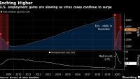 Възстановяването на пазара на труда в САЩ се забавя