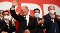 Консерваторите на Меркел са с исторически слаб резултат, равни по сили със SPD