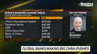 Банките от Уолстрийт се борят в Китай