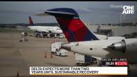 Delta очаква устойчиво възстановяване на въздушния трафик след повече от две години