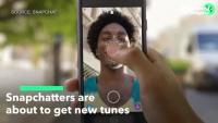 Snapchat пуска нови мелодии