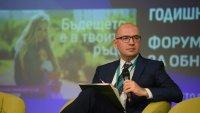 Христо Николов от Bloomberg TV Bulgaria модерира форум за устойчивото развитие на общините