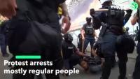 Арестуват предимно обикновени хора от протестите в САЩ