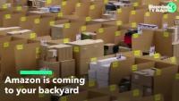 Amazon ще отвори складове в предградията на американски градове