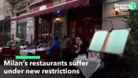 Ресторантите в Милано страдат от новите ограничения