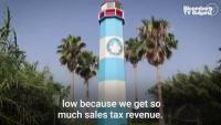 Затворената крайбрежната зона в Кема, Тексас е тежък удар за местната икономика
