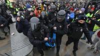 Масови протести в Русия в подкрепа на опозиционния лидер Алексей Навални