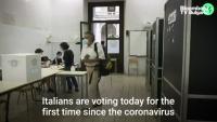 Как гласува Италия в пандемия