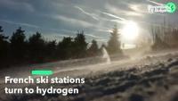 Френските ски курорти минават на водород