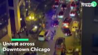 Бунтове в център на Чикаго