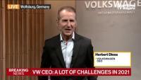 Херберт Дийс, директор на Volkswagen пред Bloomberg, част 2