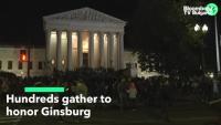 Американците отдадоха почит на съдия Гинсбърг