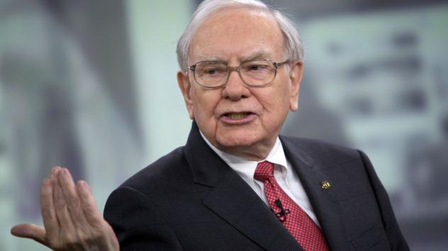 Инвеститорът и ръководител на Berkshire Hathaway Уорън Бъфет. Снимка: Bloomberg
