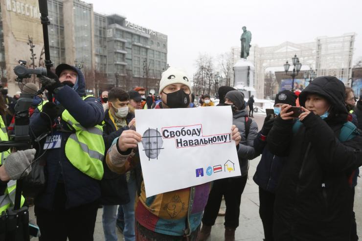 протест Навални