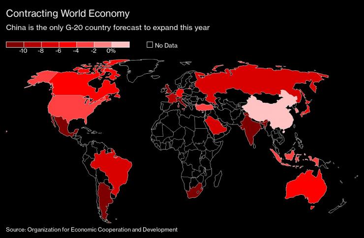 ОИСР подобри очакванията си за глобалната икономика - Bloomberg